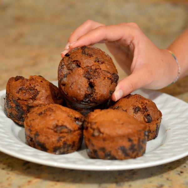 Muffins au chocolat Milka