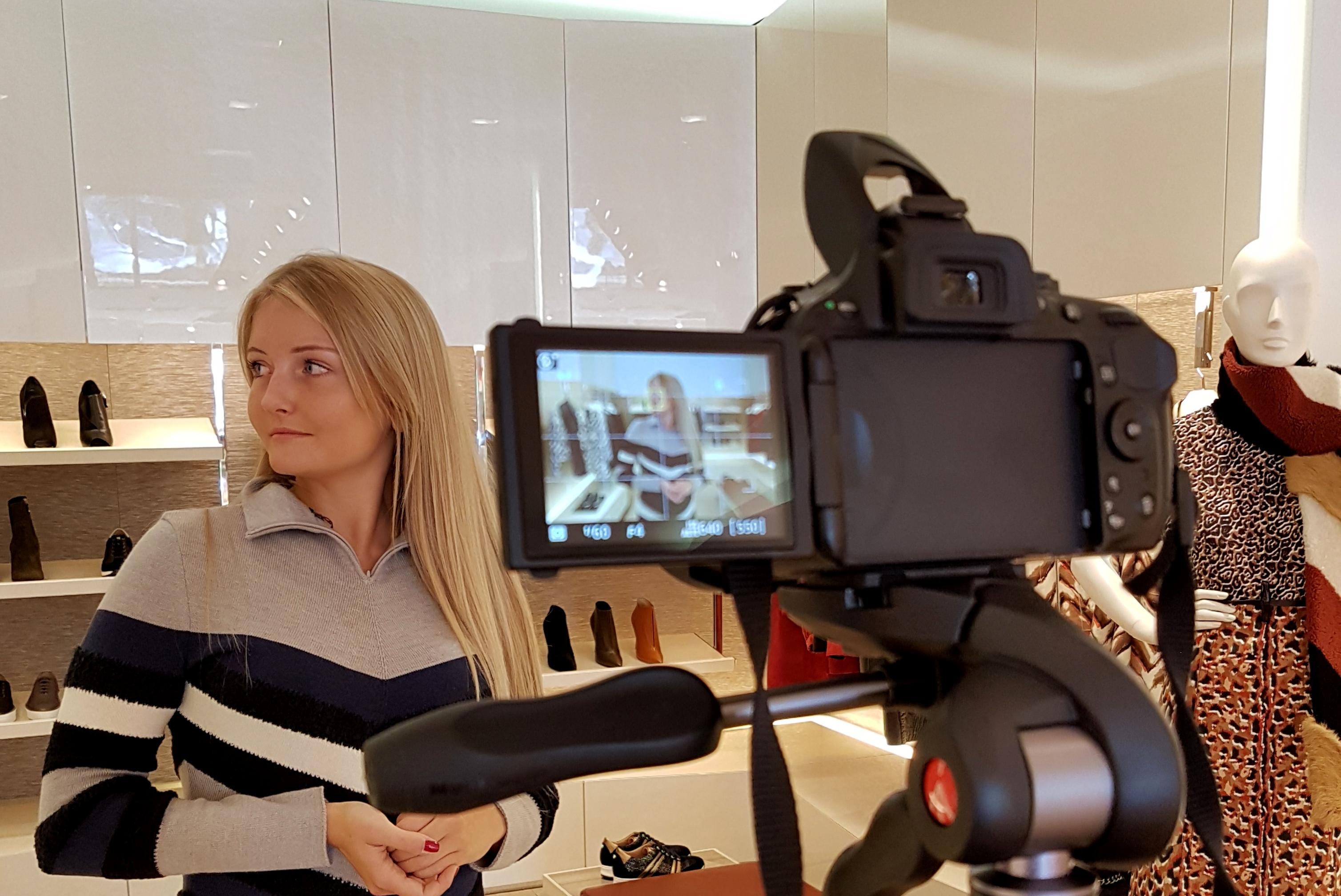 MVoyagerblog est invitée chez Longchamp à Nice
