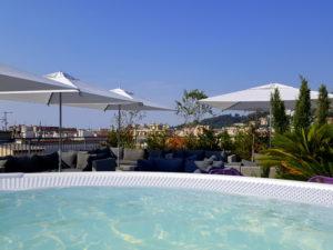 Rooftop 17 - Monsigny Hôtel à Nice